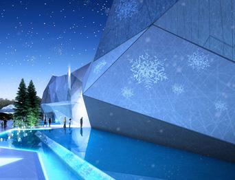 TYWT项目——深圳佳兆业金沙湾雪域广场舞台机械设备及舞台阻燃幕布项目